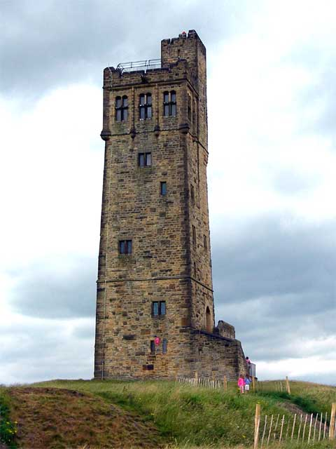 Tall square tower