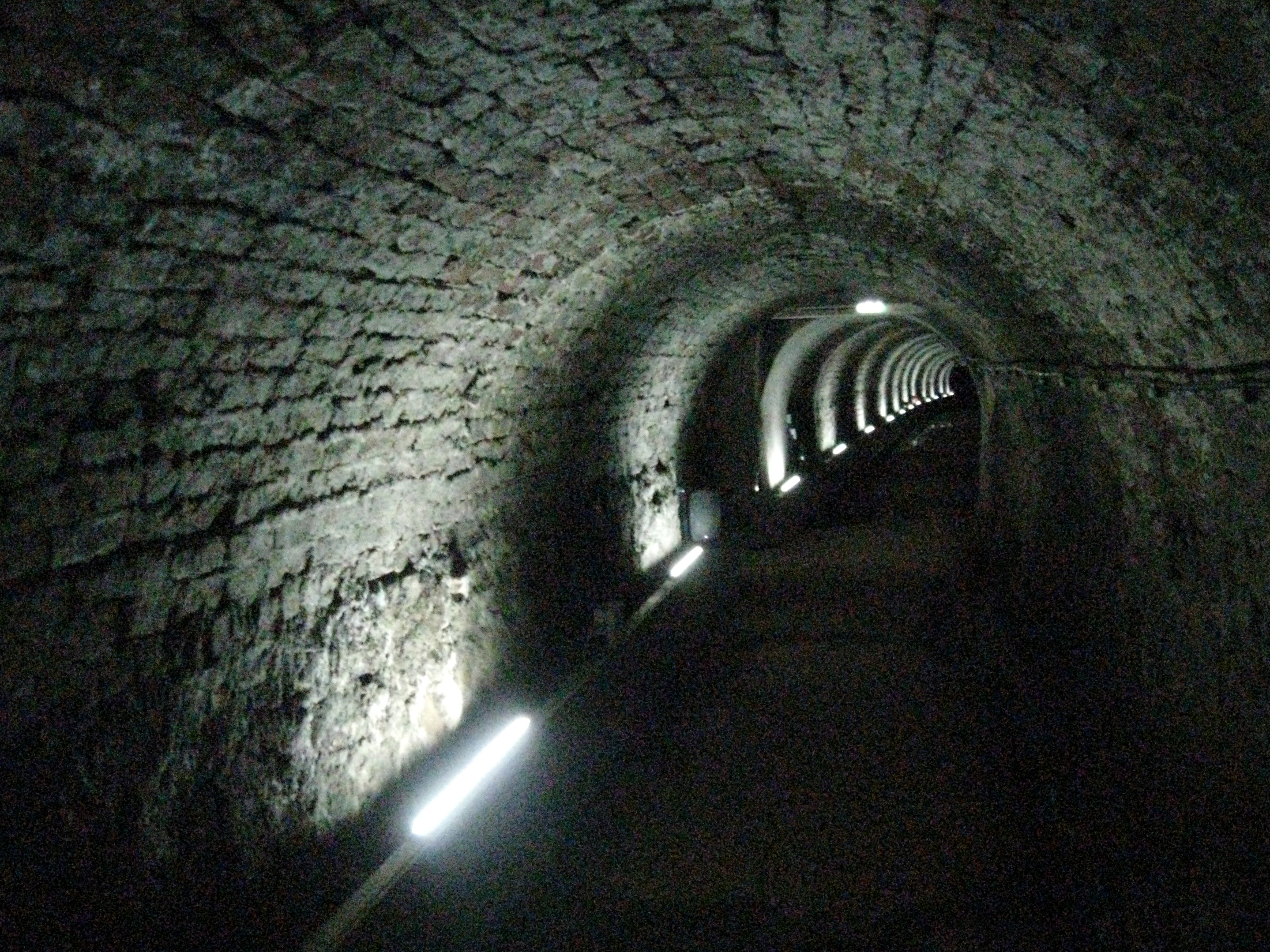 Inside Newcastle's Victoria Tunnels