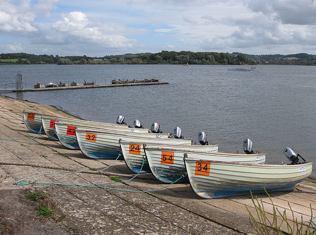 View East, Chew Valley Lake - geograph.org.uk - 1464413