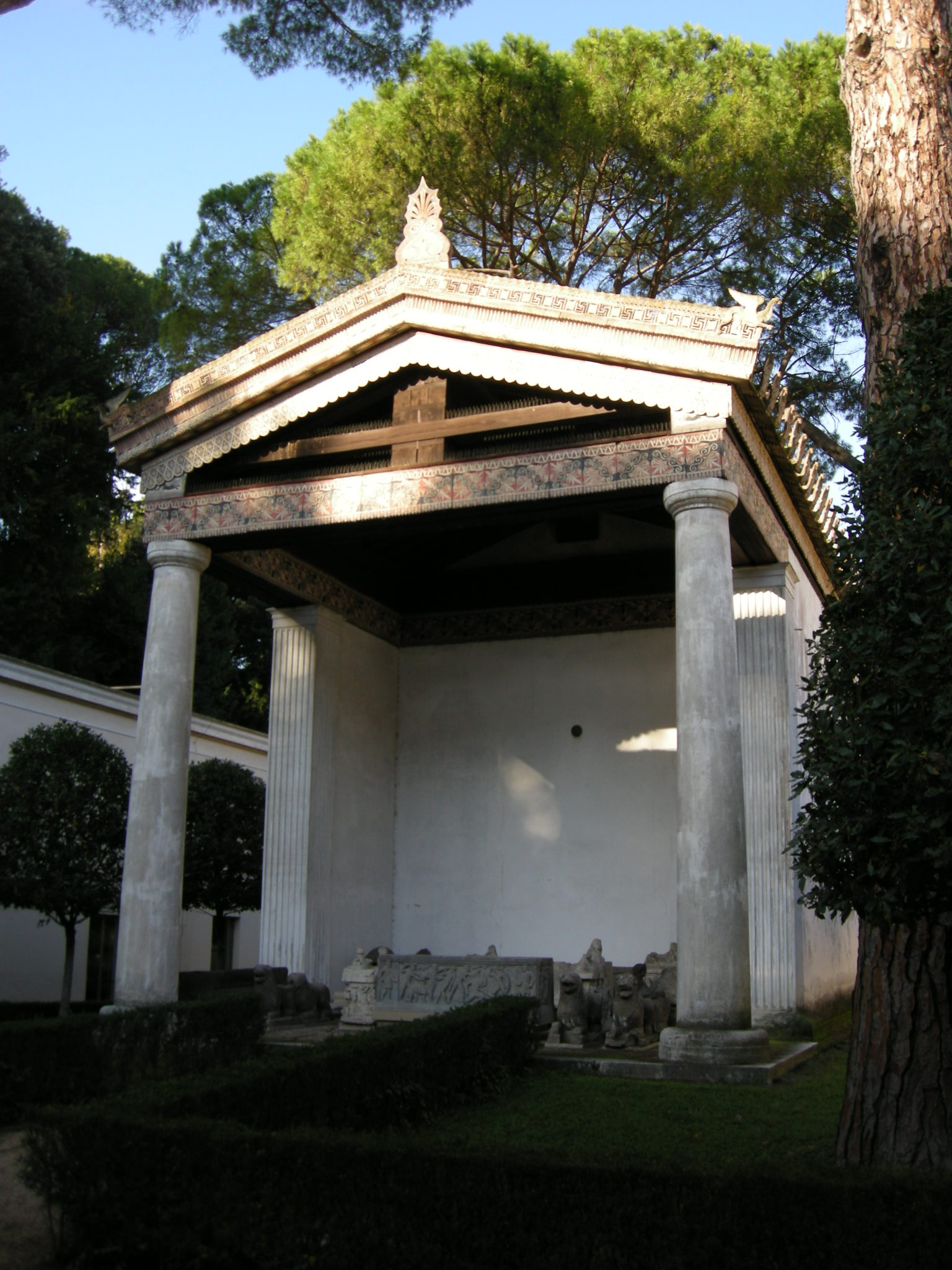 Villa Giulia Roma Museo