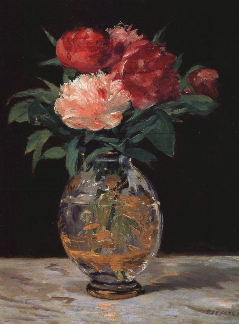 |Manet Flowers