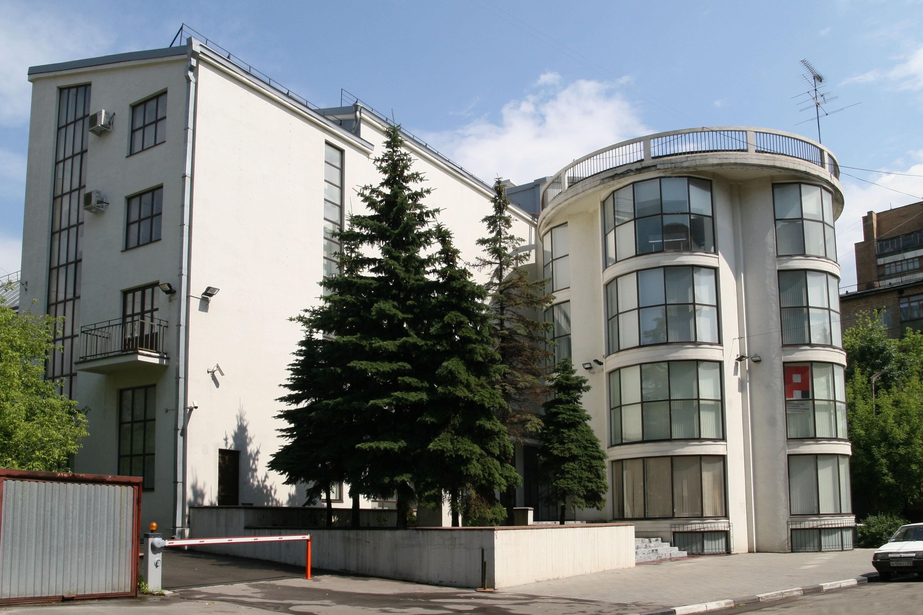 архитектура клубов москвы