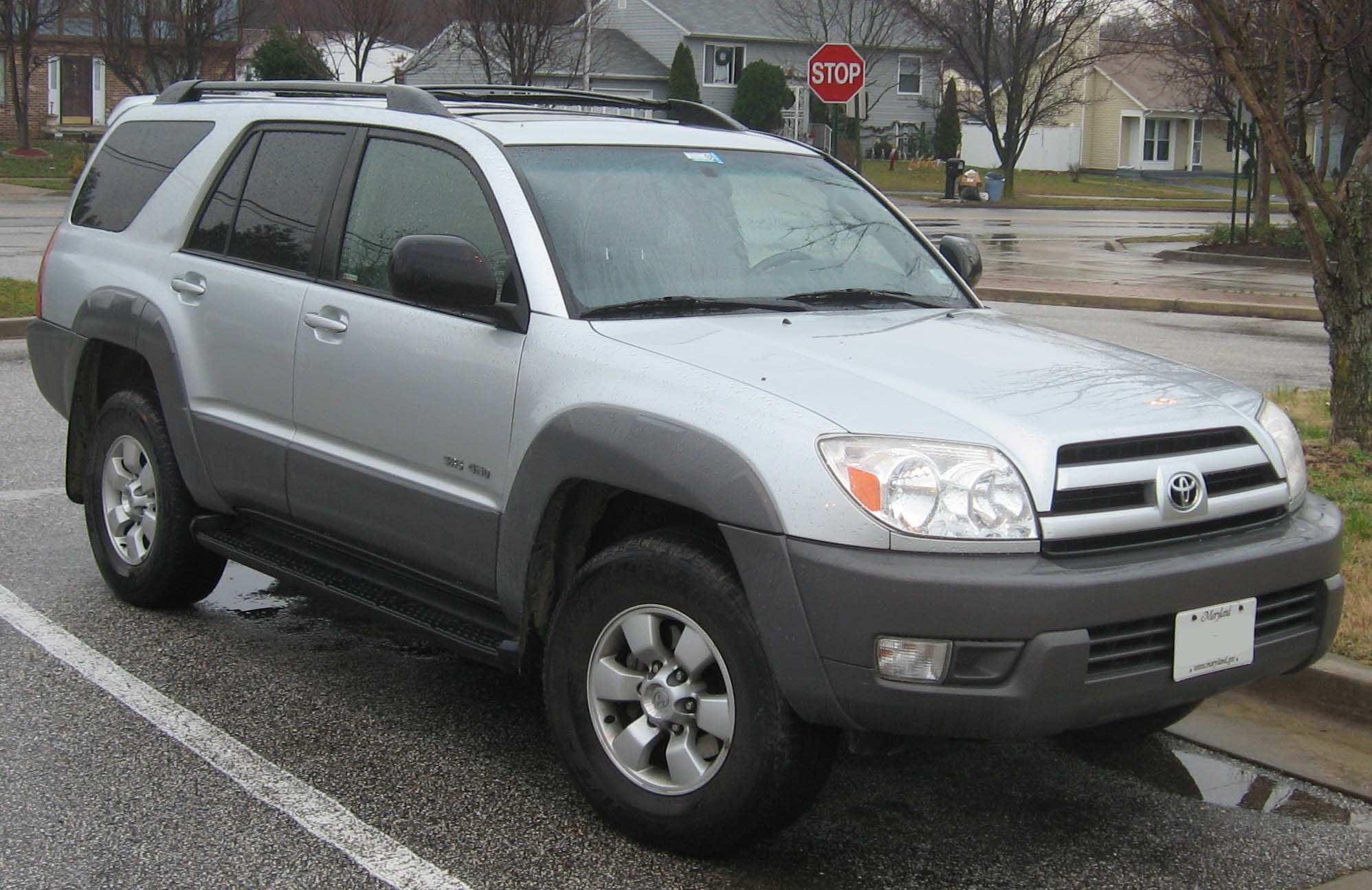 File 03 05 Toyota 4runner Sr5 Jpg Wikimedia Commons