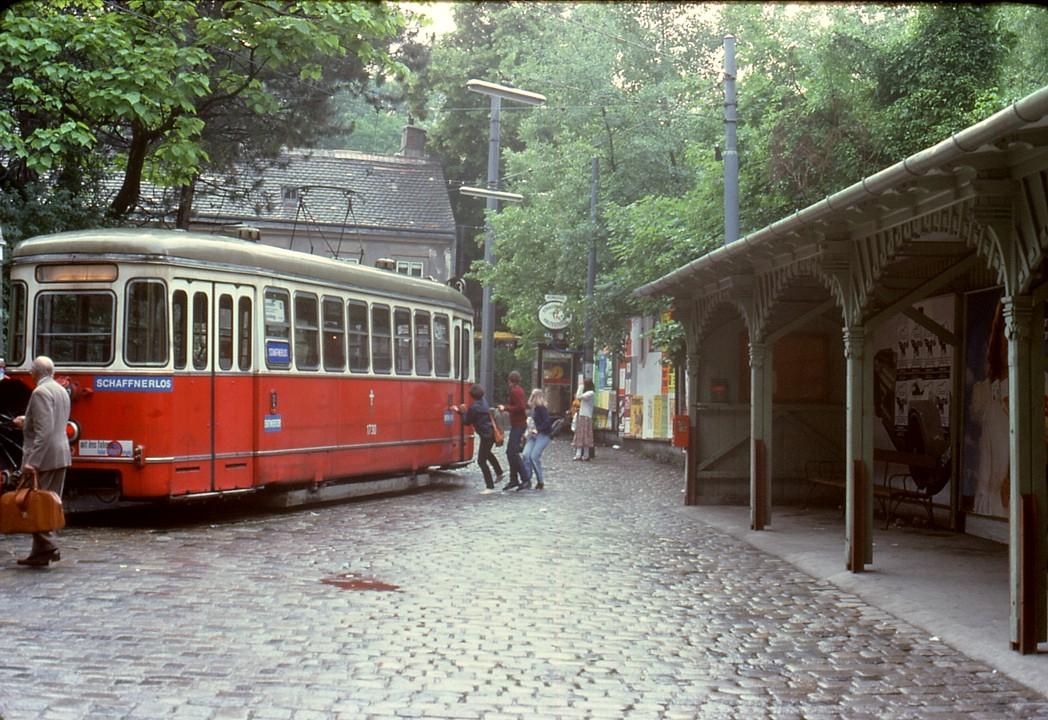 File056r22270679 Neuwaldegg Endstelle Der Strassenbahn Linie 43