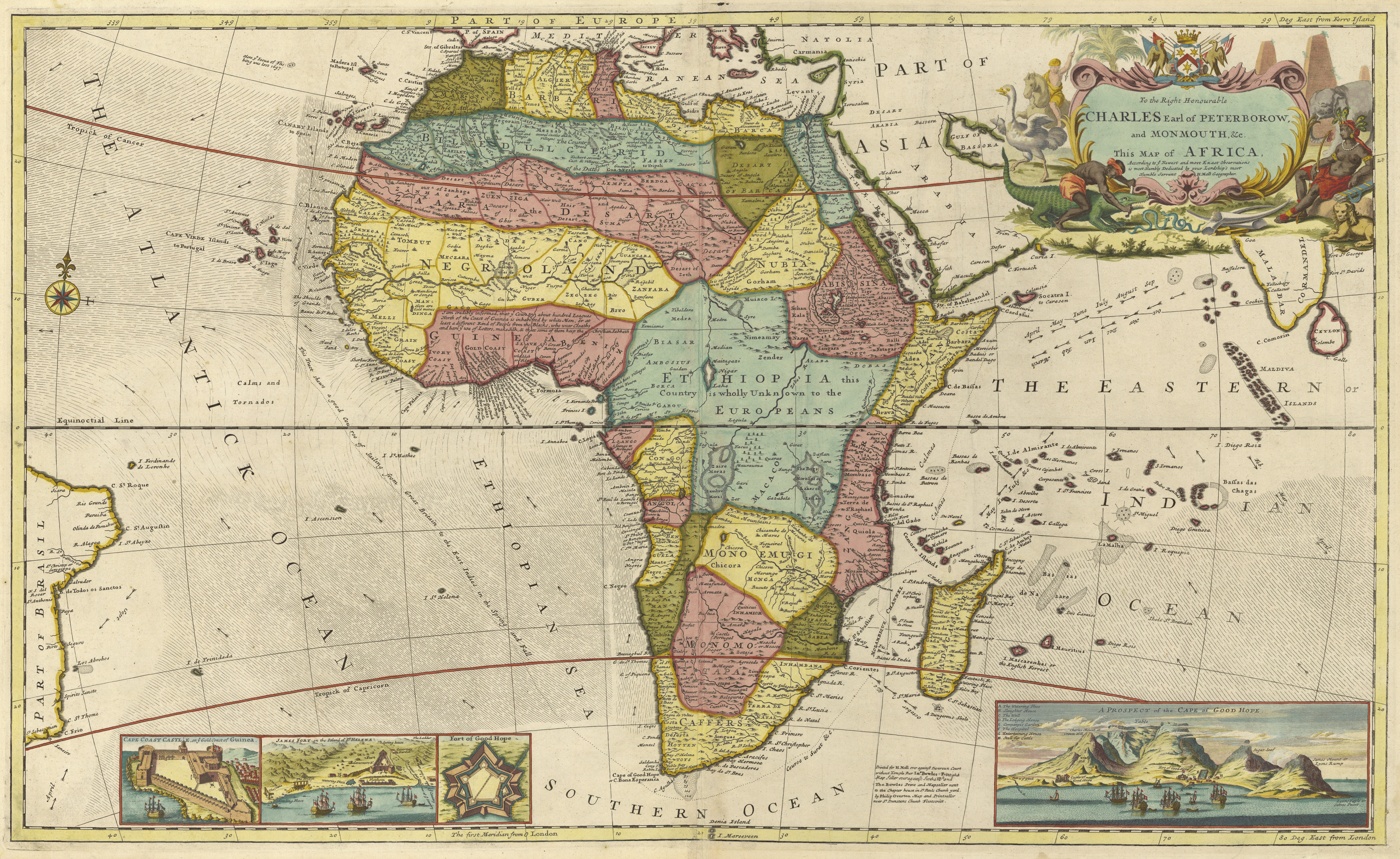 Old Map Of Africa Bight of Biafra   Wikipedia
