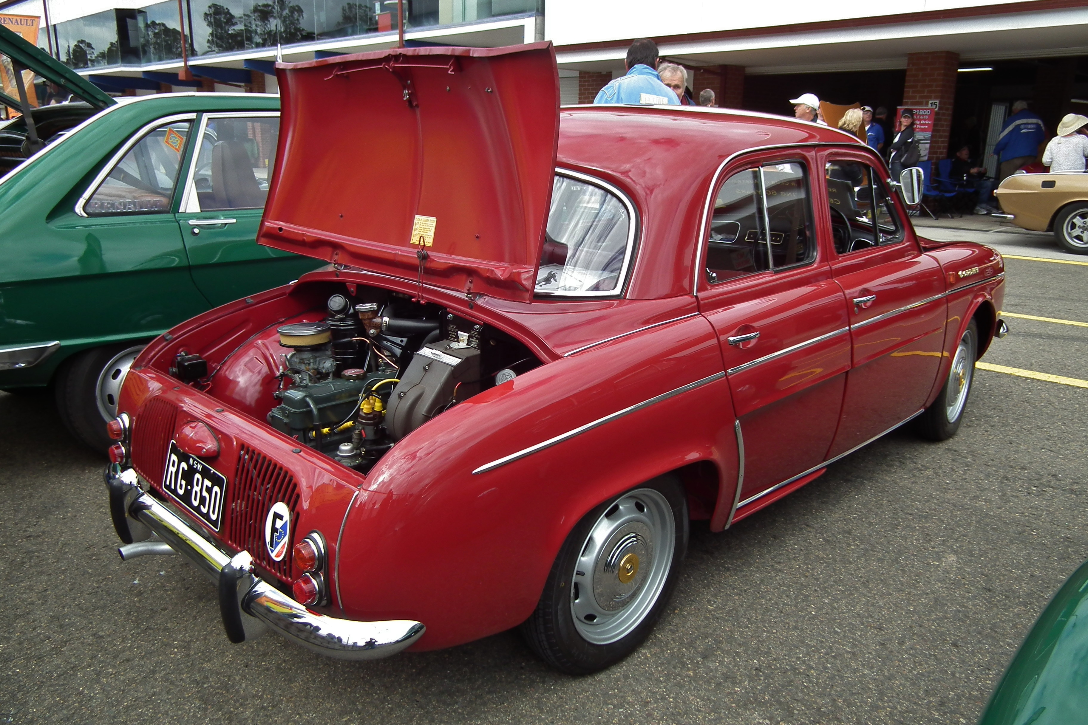 File 1962 Renault Dauphine Gordini Sedan 6105740287 Jpg Wikimedia Commons