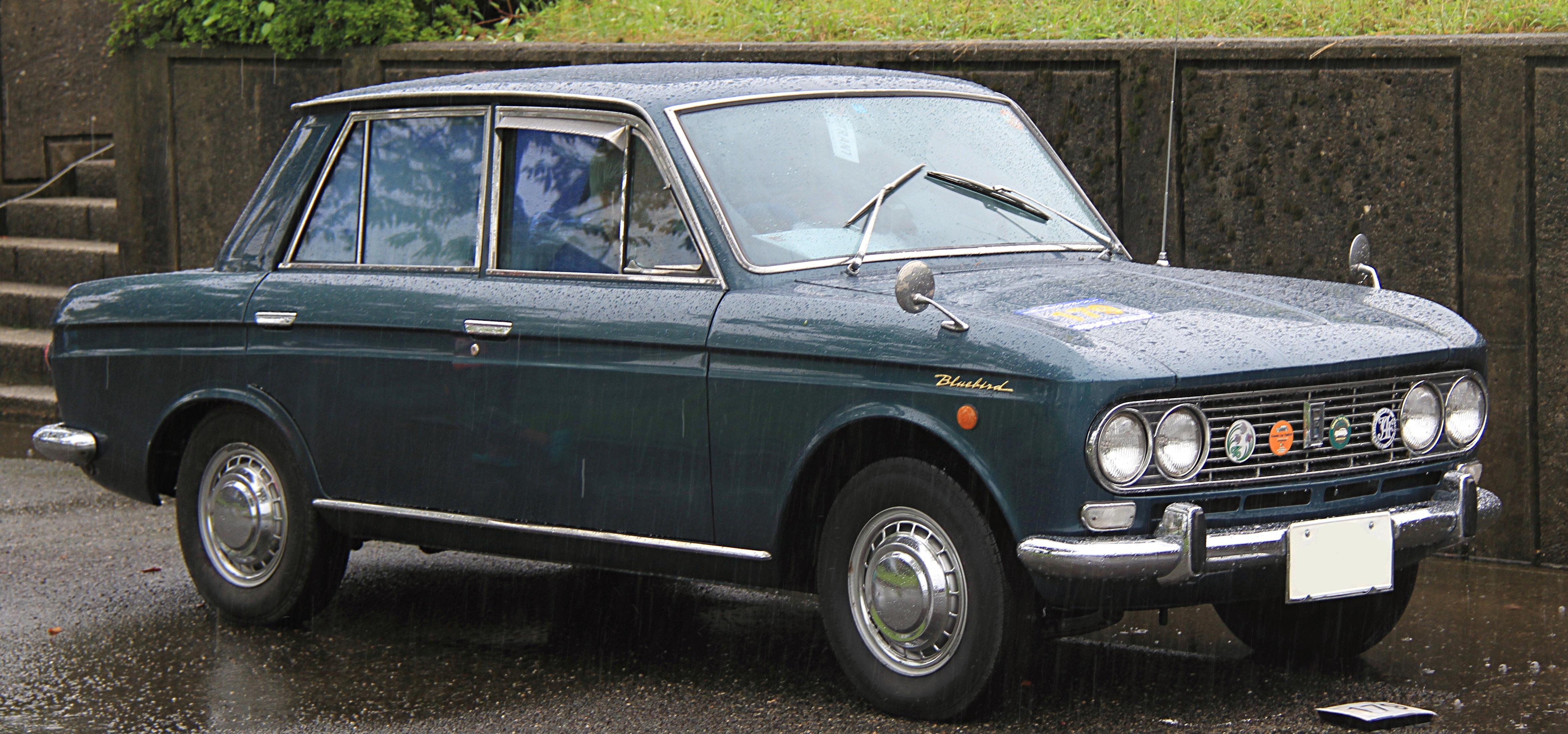 File 1966 Datsun Bluebird 1300 Deluxe Jpg Wikimedia Commons