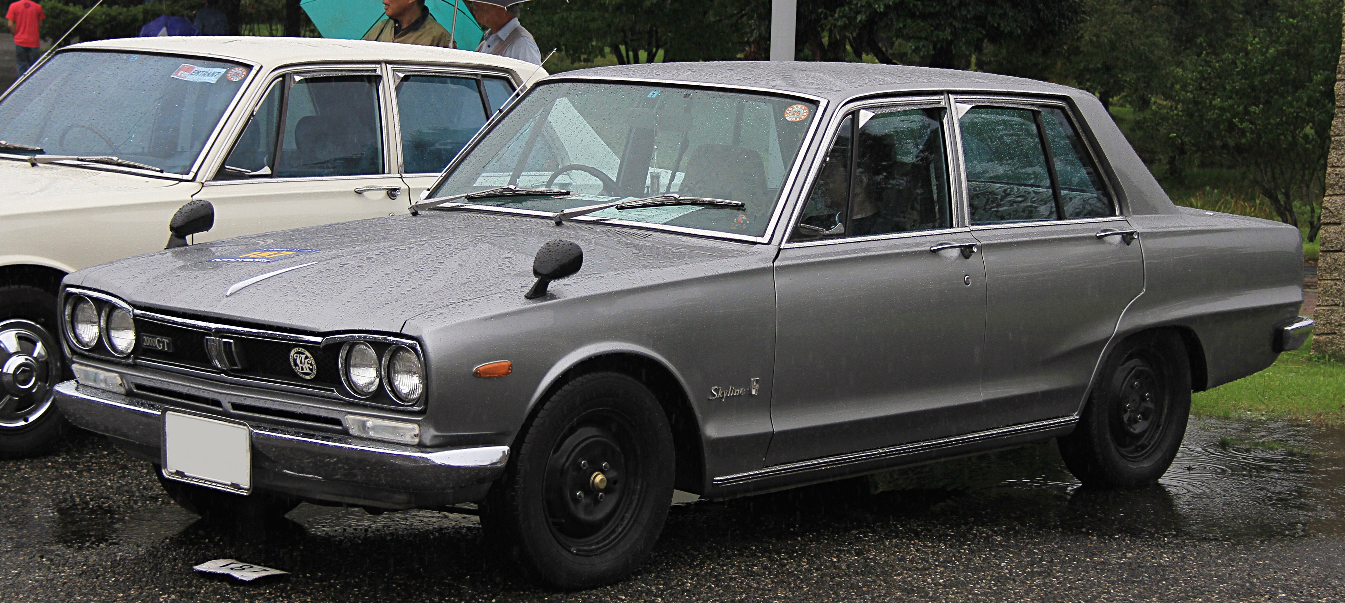 Where Is Nissan Made >> File:1971 Nissan Skyline Sedan 2000GT.jpg - Wikimedia Commons