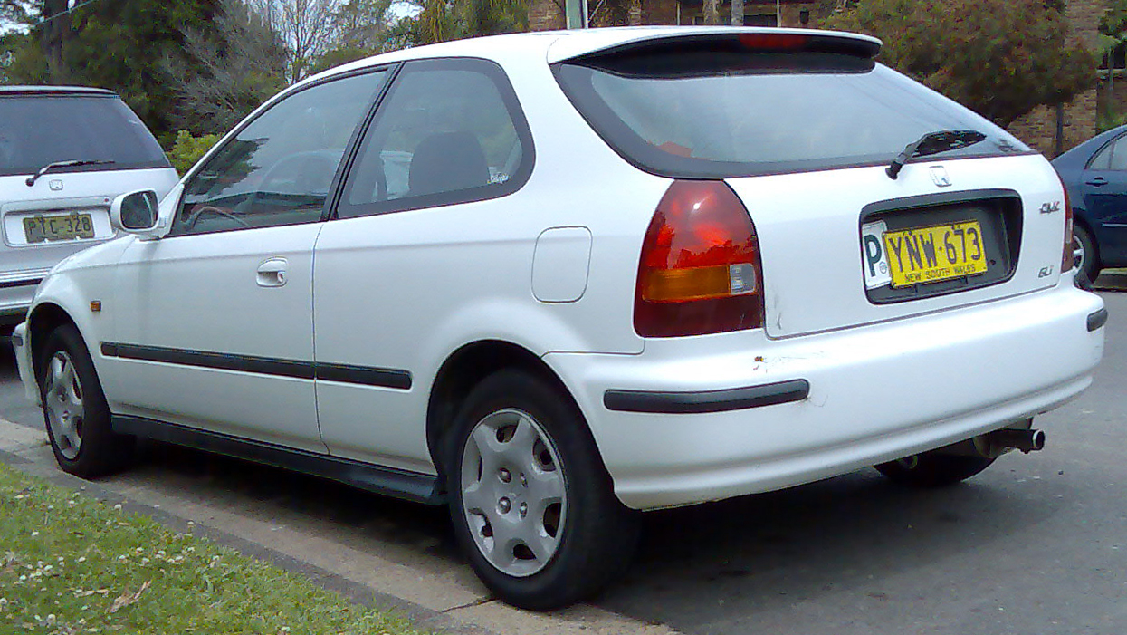 1998 Honda Civic P1457 Upcomingcarshq Com