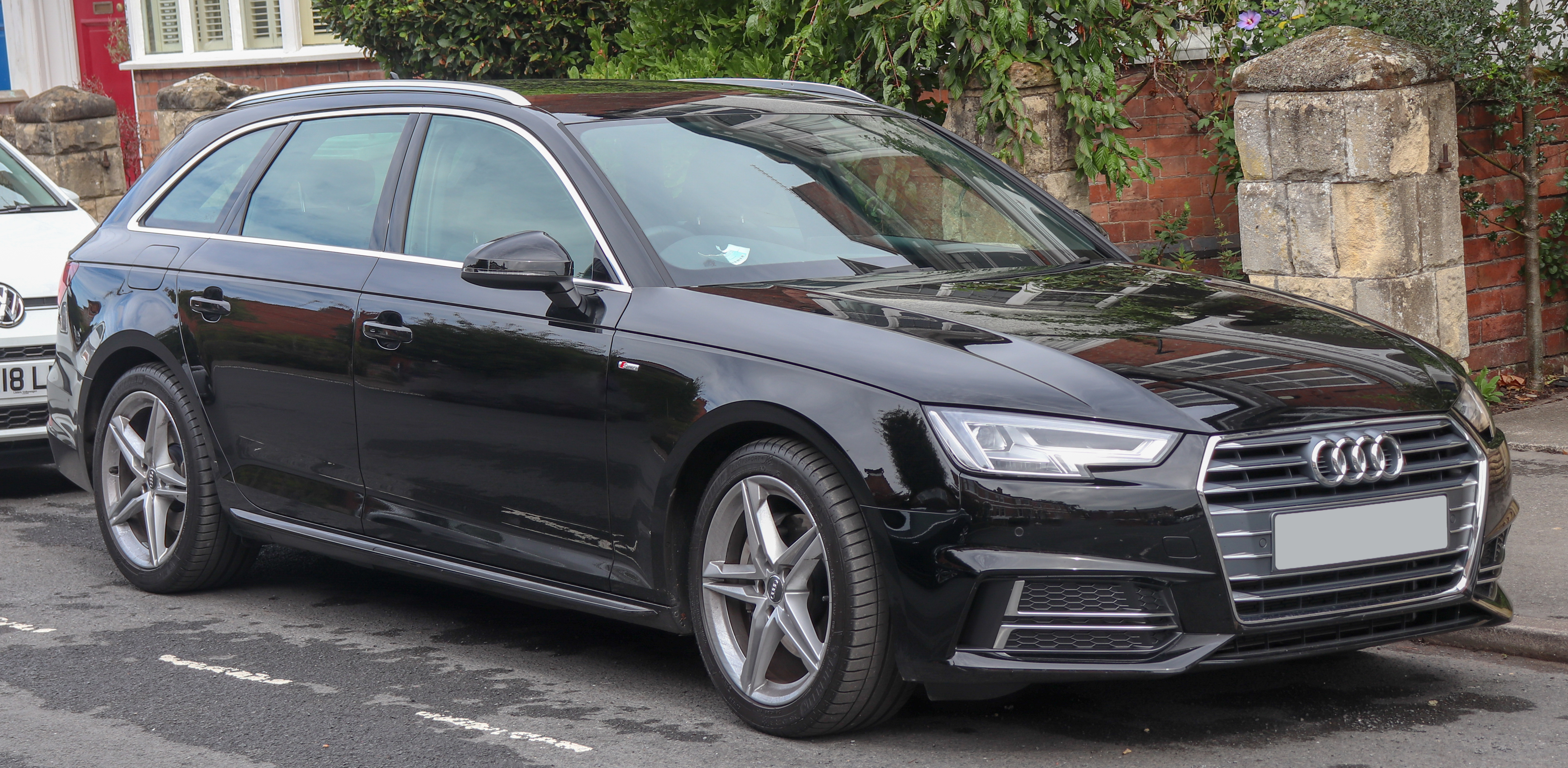 File2018 Audi A4 Avant S Line Tdi S A 20 Frontjpg Wikimedia Commons