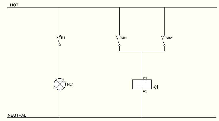 3 way switch wiring diagram using relay with led