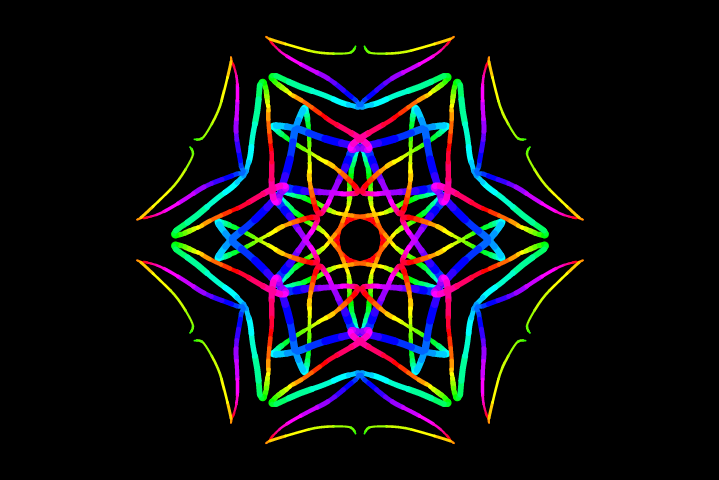 6-fold rotational and reflectional symmetry 130127 164228