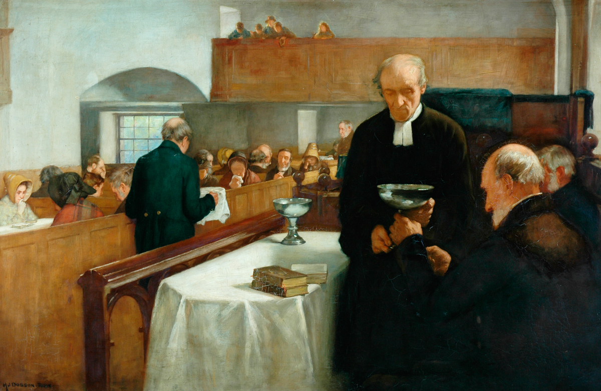 How to determine the sacrament 42