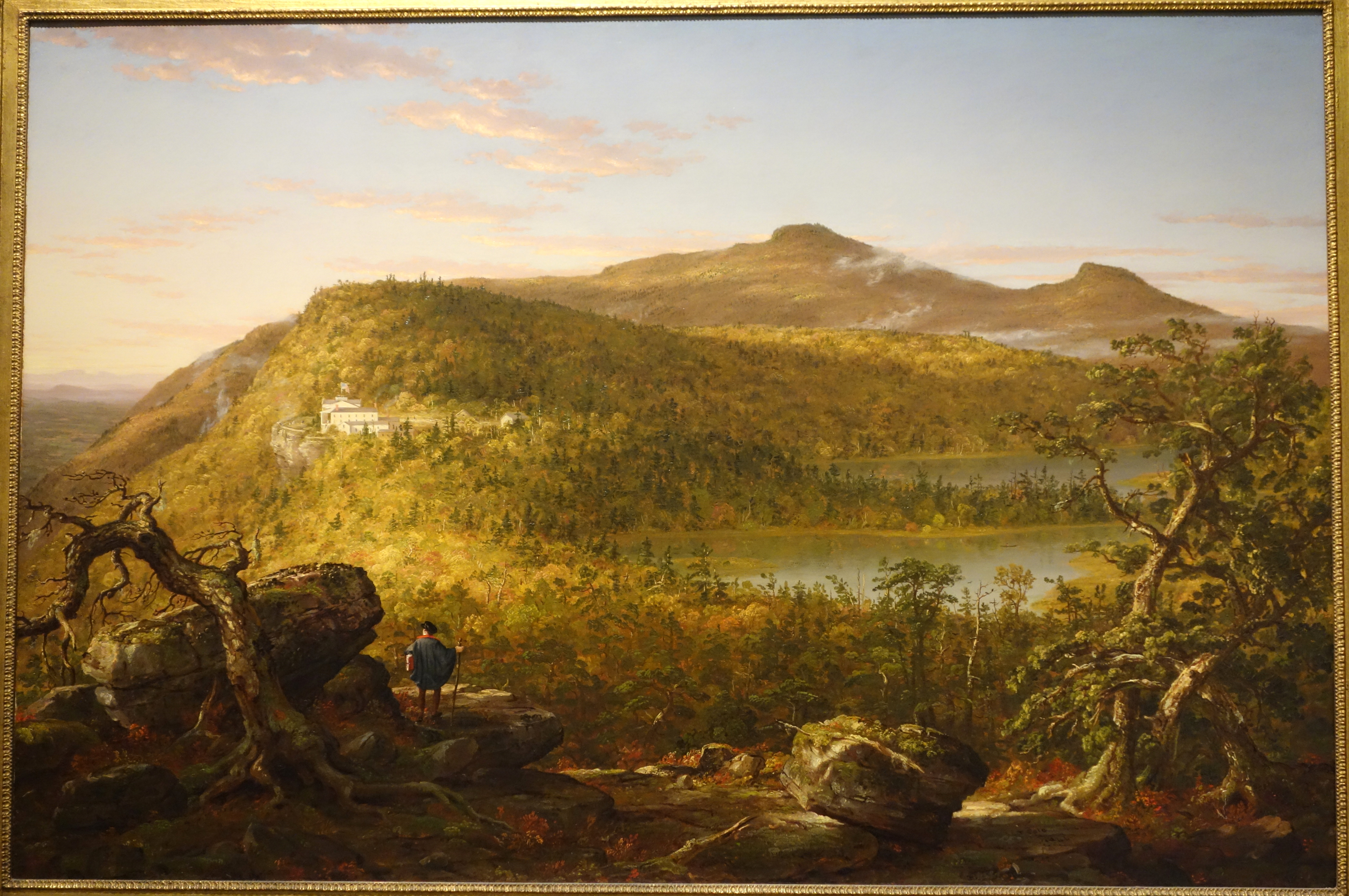 File a view of the two lakes and mountain house catskill for Mountain house media