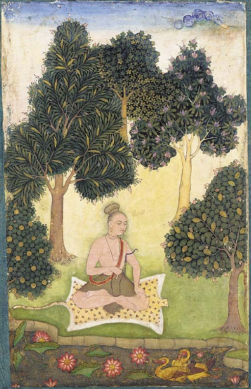 https://upload.wikimedia.org/wikipedia/commons/7/70/A_yogi_seated_in_a_garden.jpg