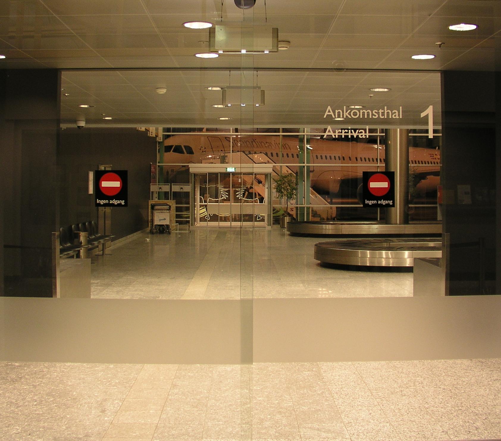 ankomst aalborg lufthavn