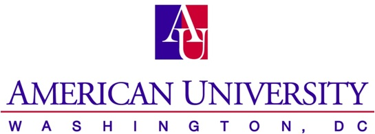 American University logo courtesy wikipedia.org