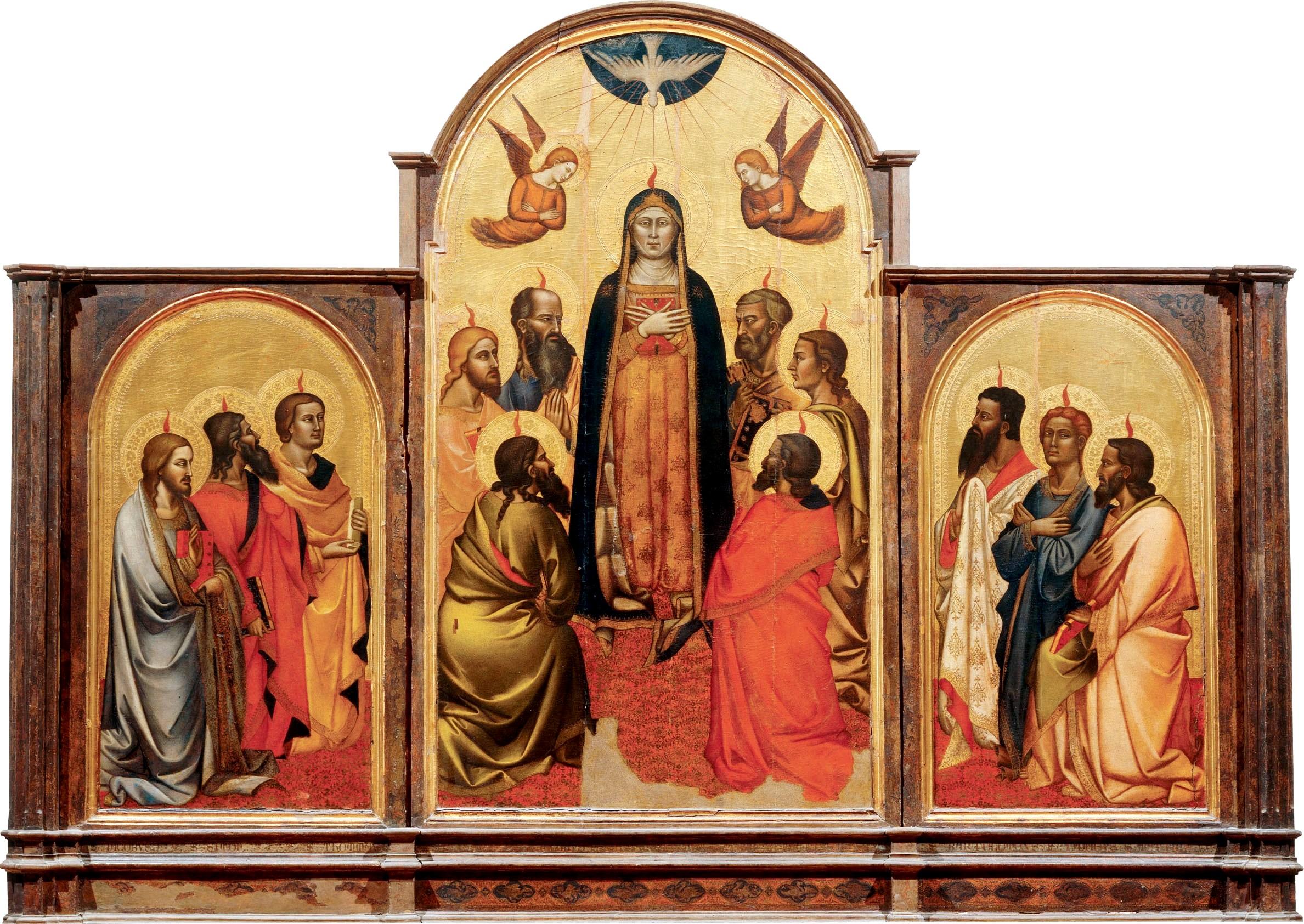 File:Andrea di Cione. Pentecost. 1362-65, Galleria dell'Accademia