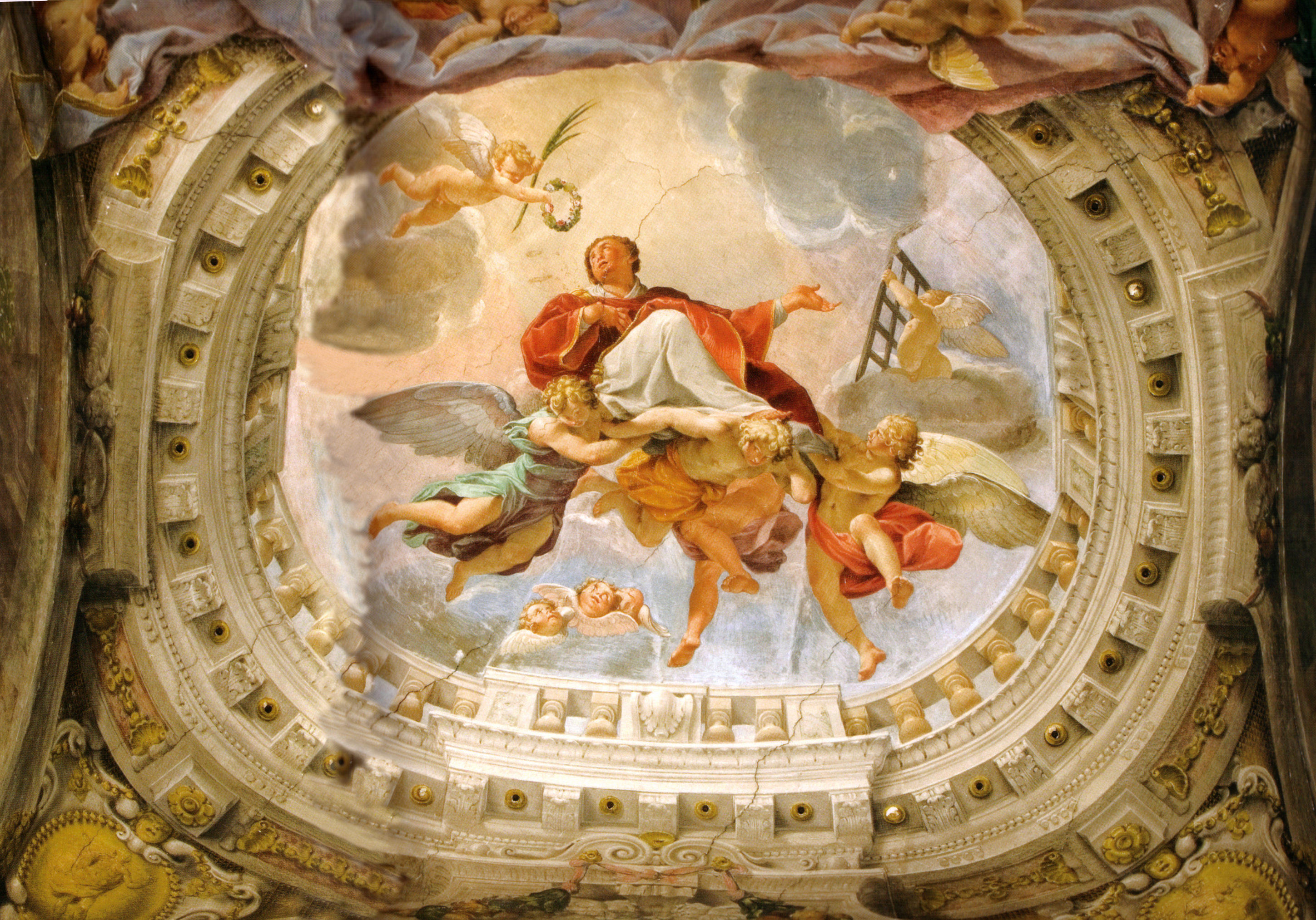 Dipinti Murali E Pittura Ad Ago : Pittura illusionistica wikipedia