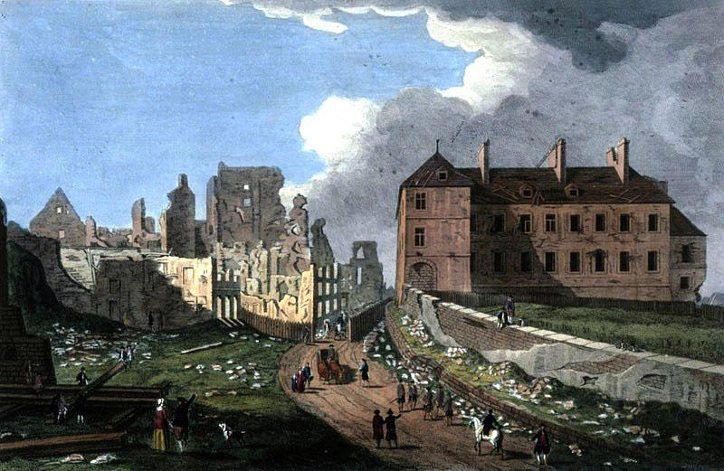 Archeveche Quebec 1759 Richard Short