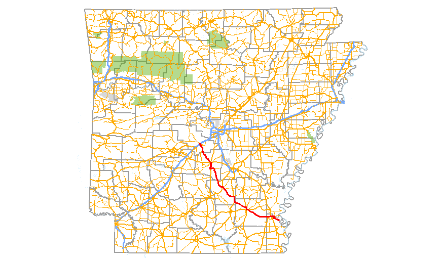 I69 Arkansas Map.Arkansas Highway 35 Wikipedia
