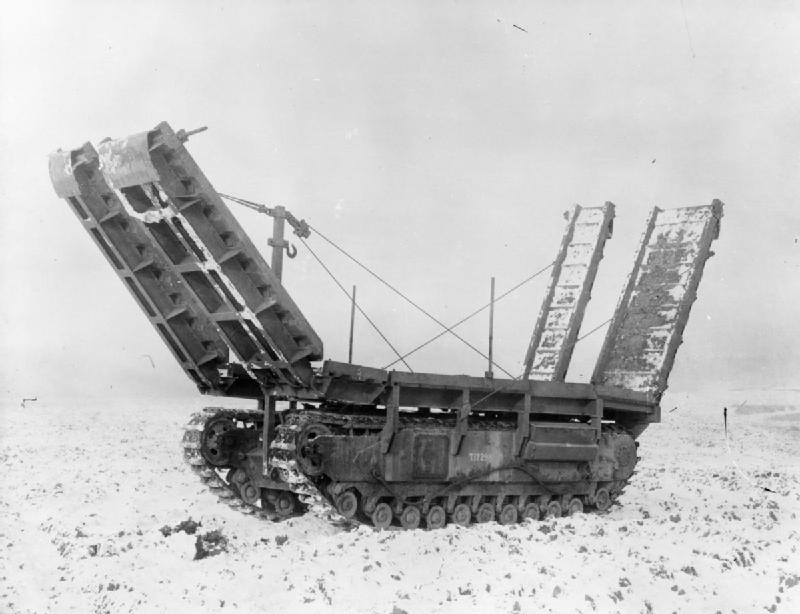 Churchill ramp carrier - Credits : Wikipedia