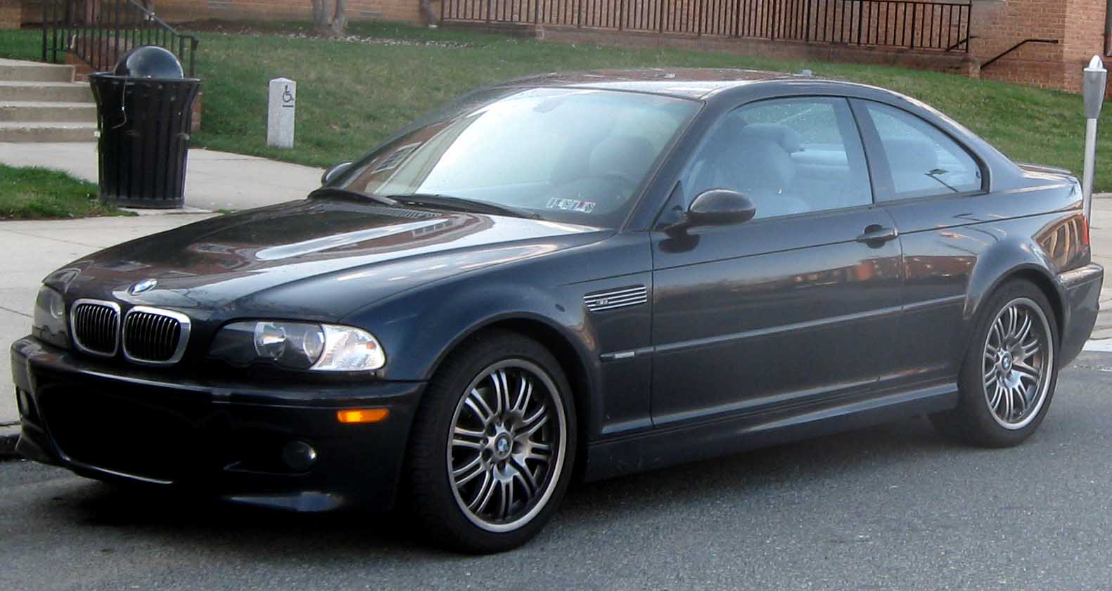 File Bmw M3 Coupe E46 Jpg Wikipedia
