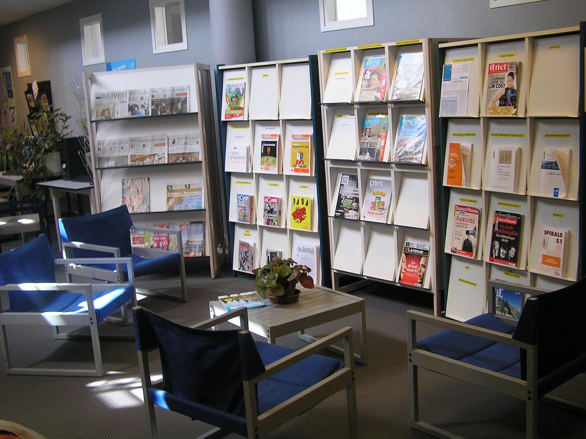 fichier biblioth que de formation des ma tres iufm brest france consultation revues jpg. Black Bedroom Furniture Sets. Home Design Ideas
