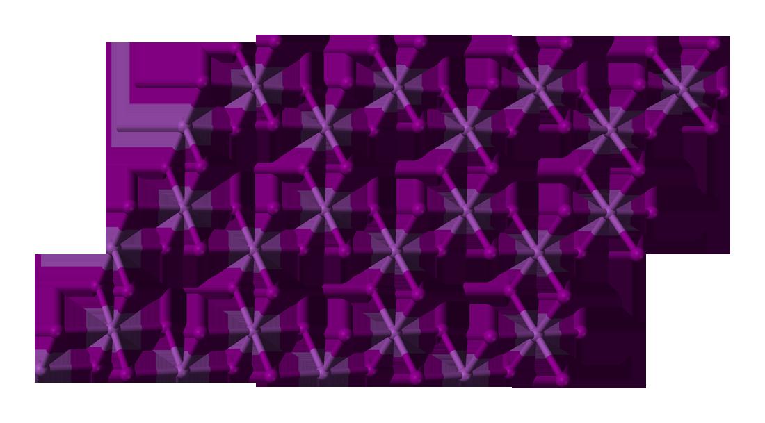 Bismuth Triiodide Layer D Balls