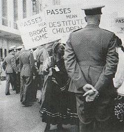 Bloemfontein anti-pass campaign