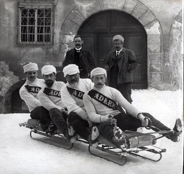 Bobfahrer Davos