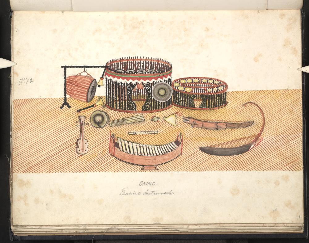 Saing. Musical instruments