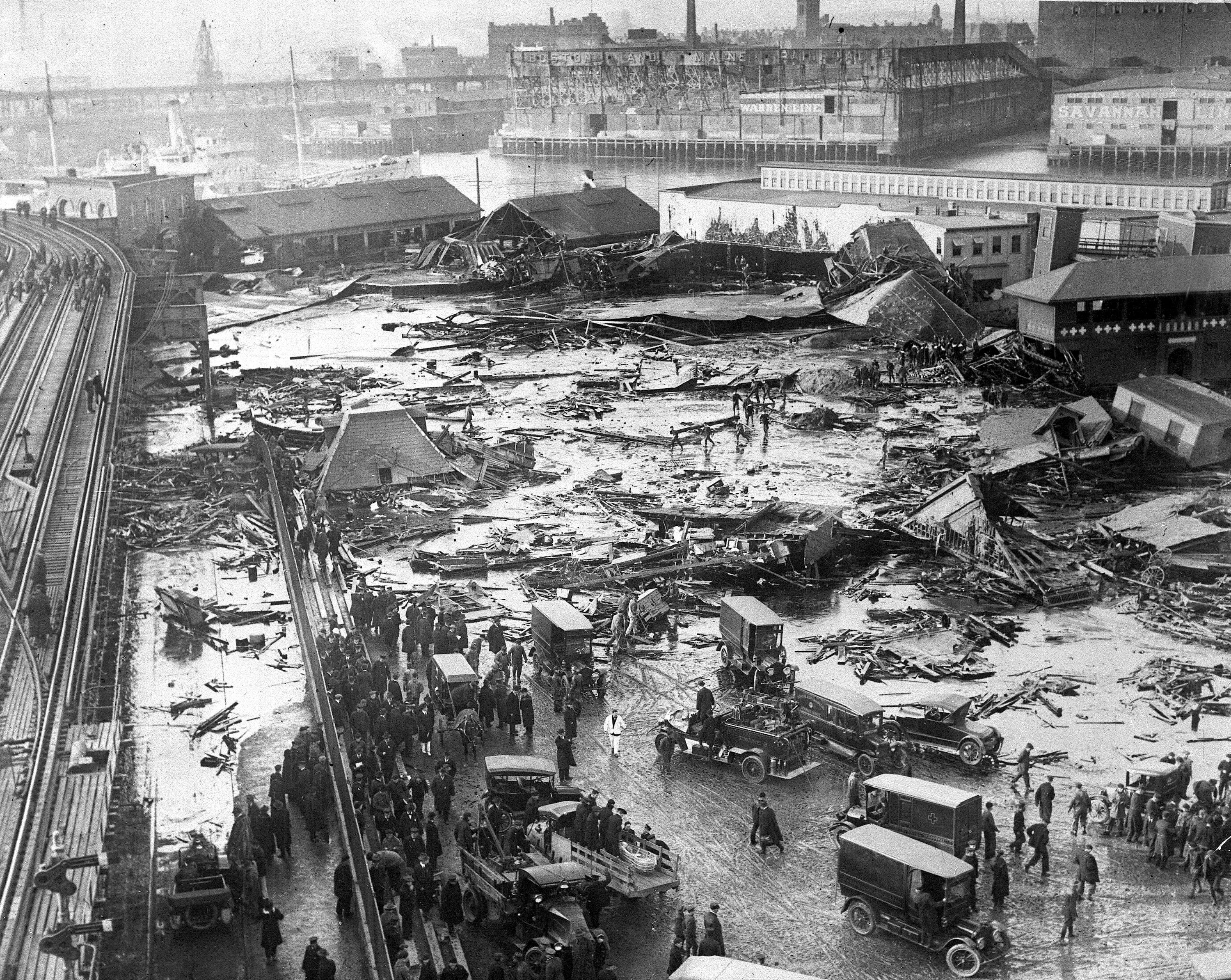 Image result for Boston Molasses Disaster