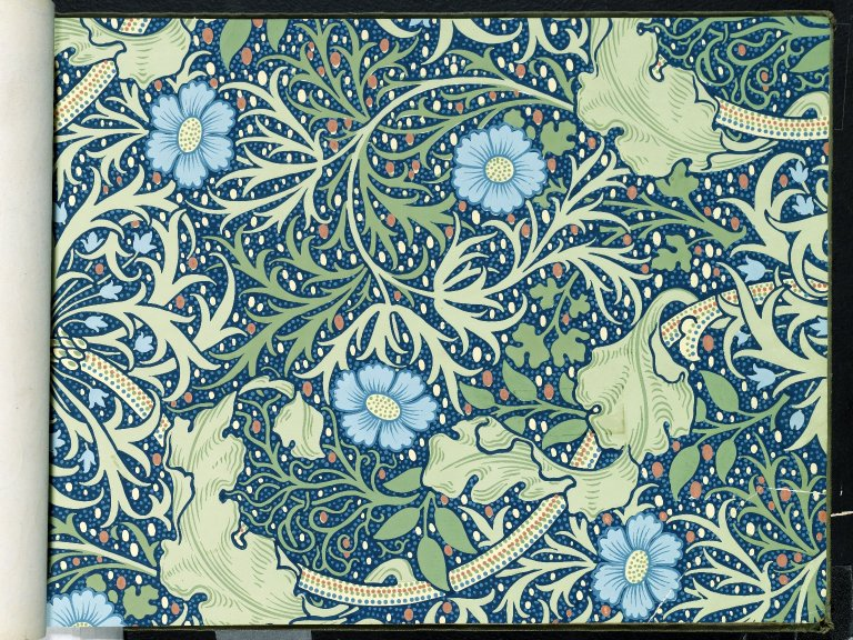 File:Brooklyn Museum  Wallpaper Sample Book 1  William Morris and Company  page086.jpg