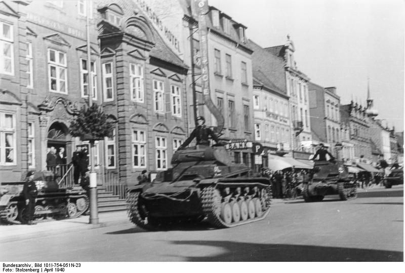 Panzer IIs and Is in Horsens