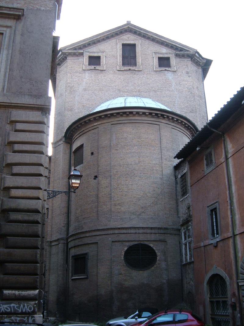 Chiesa di santa maria annunziata a tor de 39 specchi wikipedia - Cornici specchi roma ...