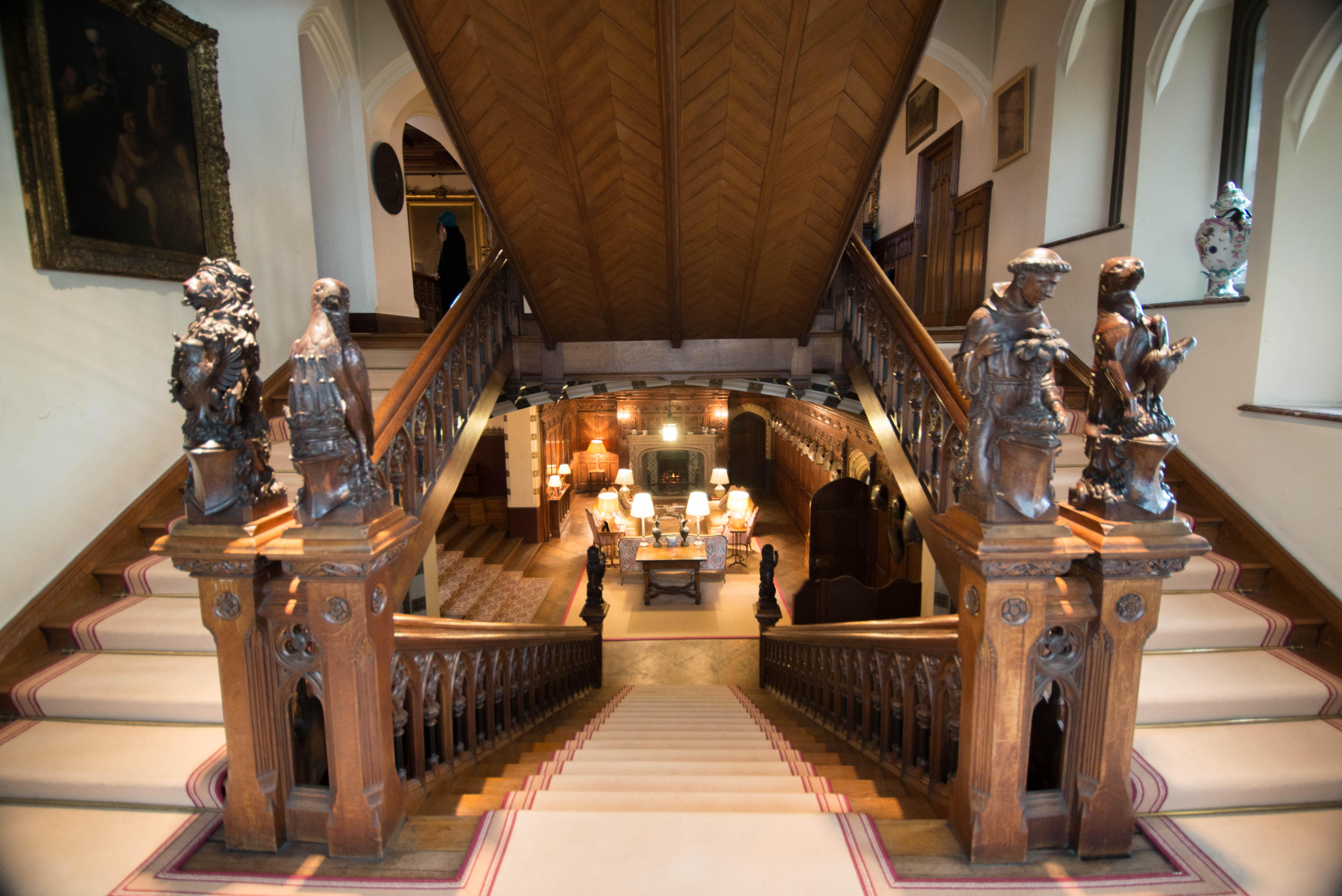 Delightful File:Carlton Towers Interior Staircase
