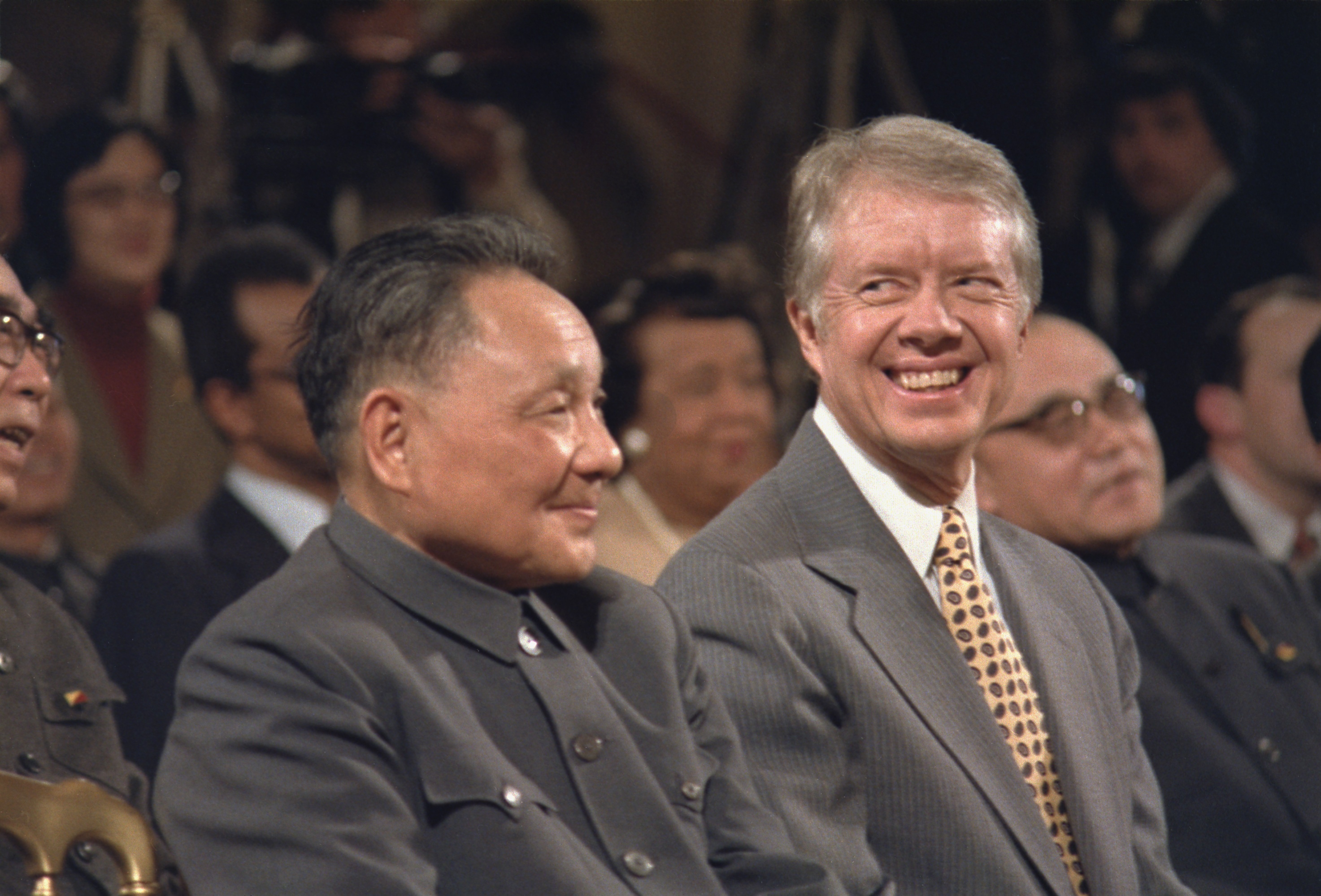 President Jimmy Carter with Chinese leader, Deng Xiaoping, January 1979