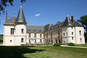 Château de Condé, façade sud.