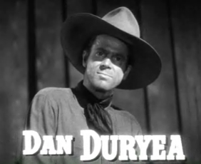 Cropped screenshot of Dan Duryea from the trai...
