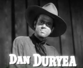 Schauspieler Dan Duryea