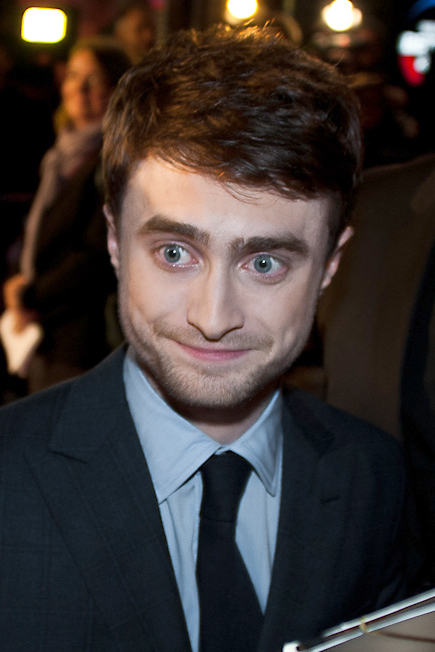 Radcliffe at the London Film Daniel Radcliffe