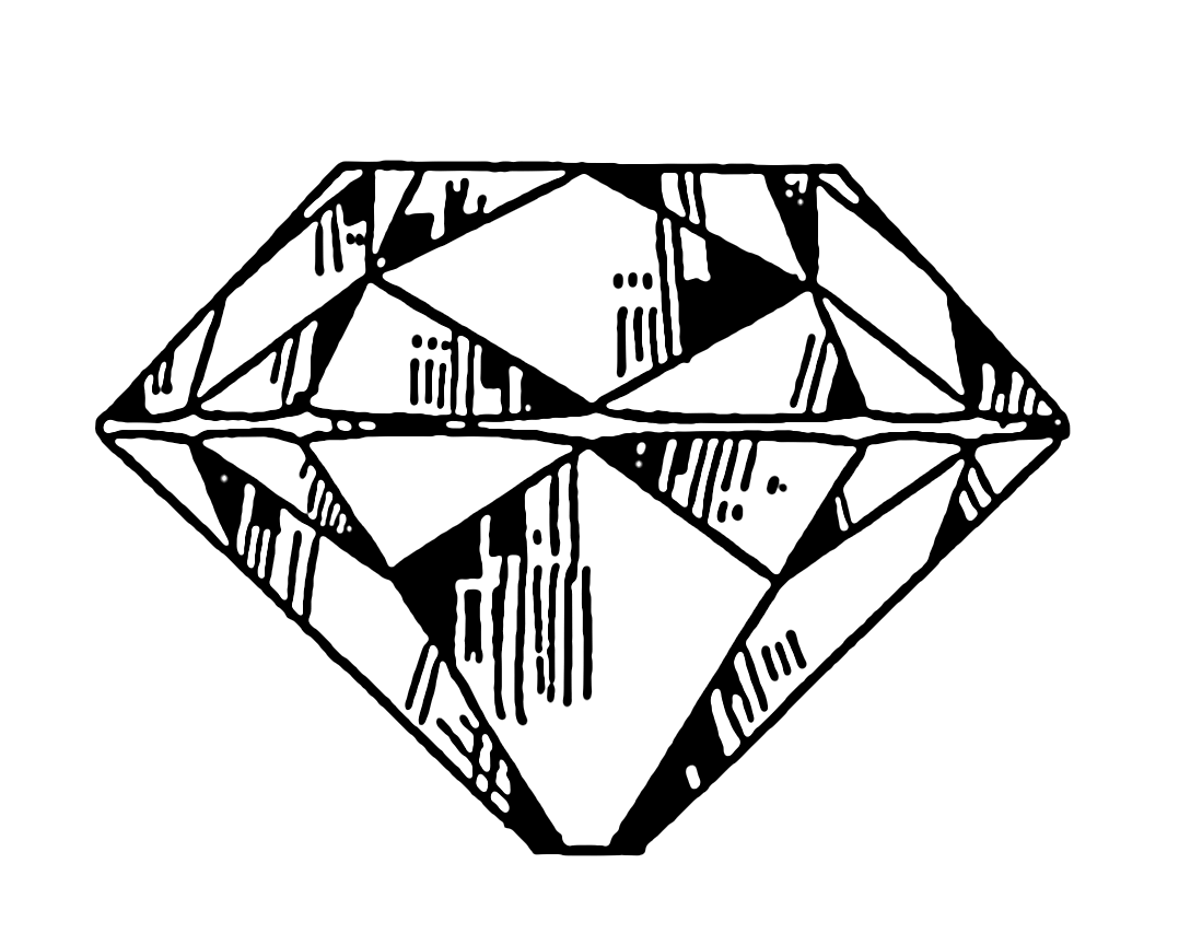 Line Drawing Diamond : File diamond psf wikimedia commons