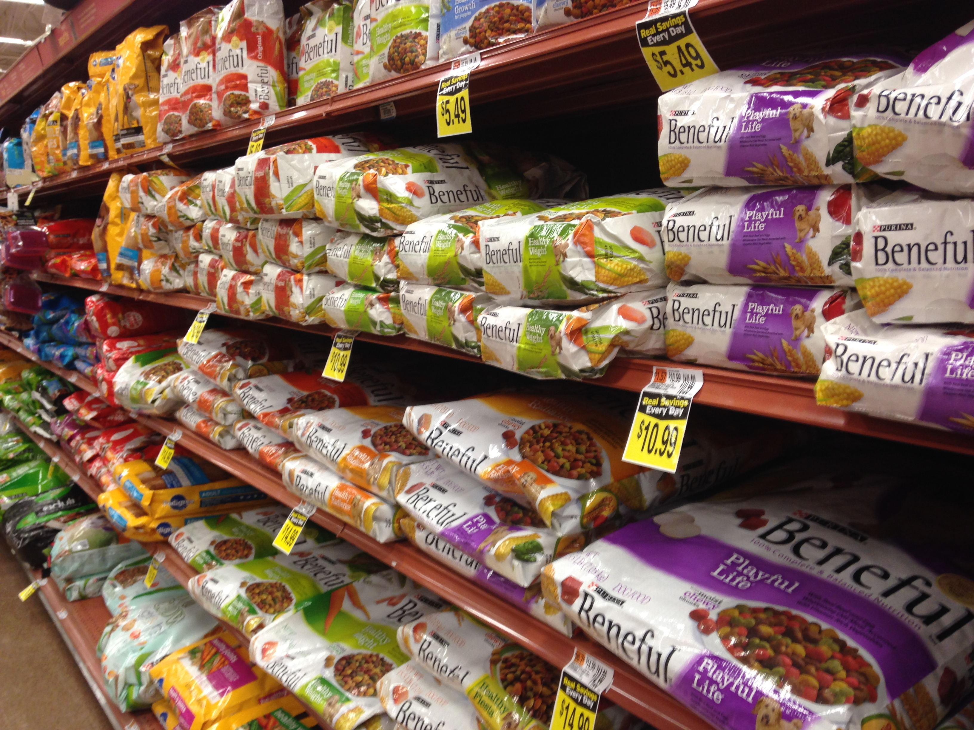 File:Dog food aisle.JPG
