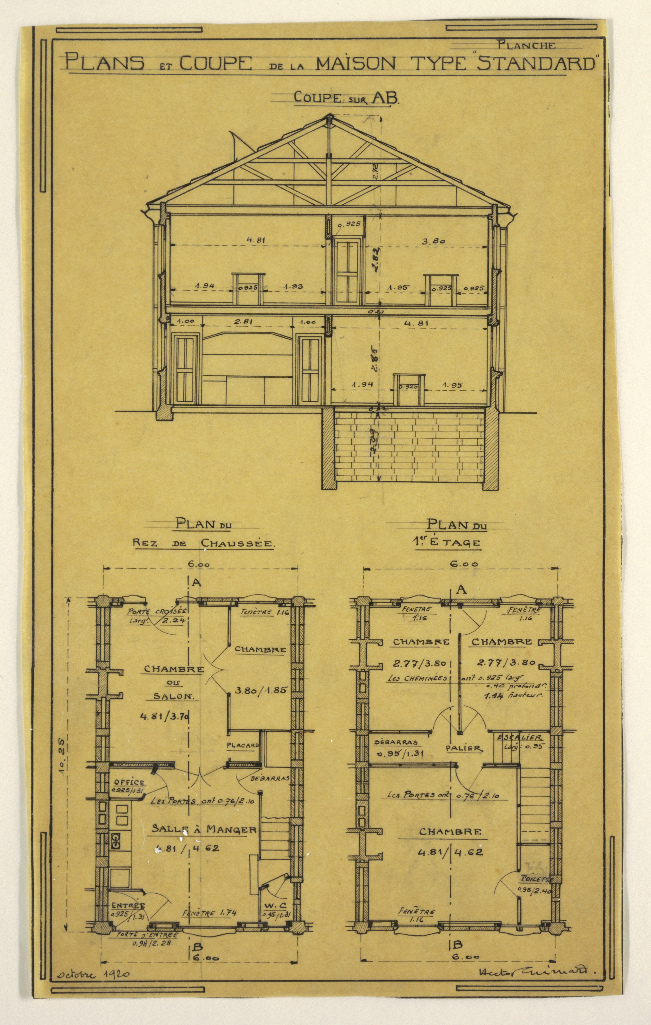 Wonderful File:Drawing, Design For A Mass Operational House Designed By Hector  Guimard,