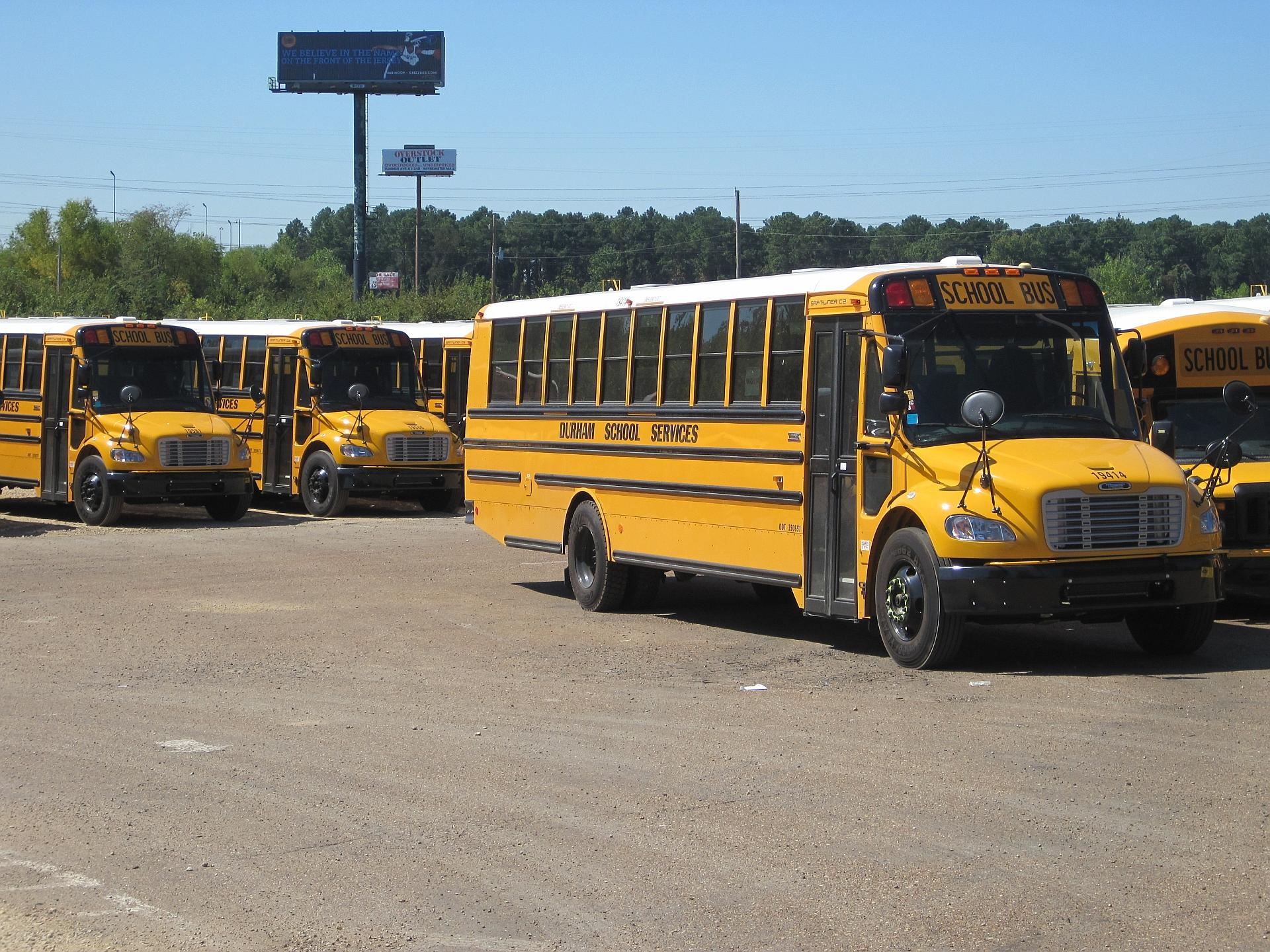 Description Durham school bus depot Shelby Oaks Dr Memphis TN 03.jpg