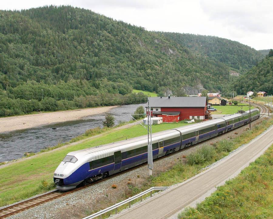 Jernbanen I Norge Wikipedia