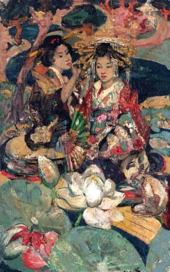 http://upload.wikimedia.org/wikipedia/commons/7/70/Edward_Atkinson_Hornel_-_Lotus_Flower.jpg