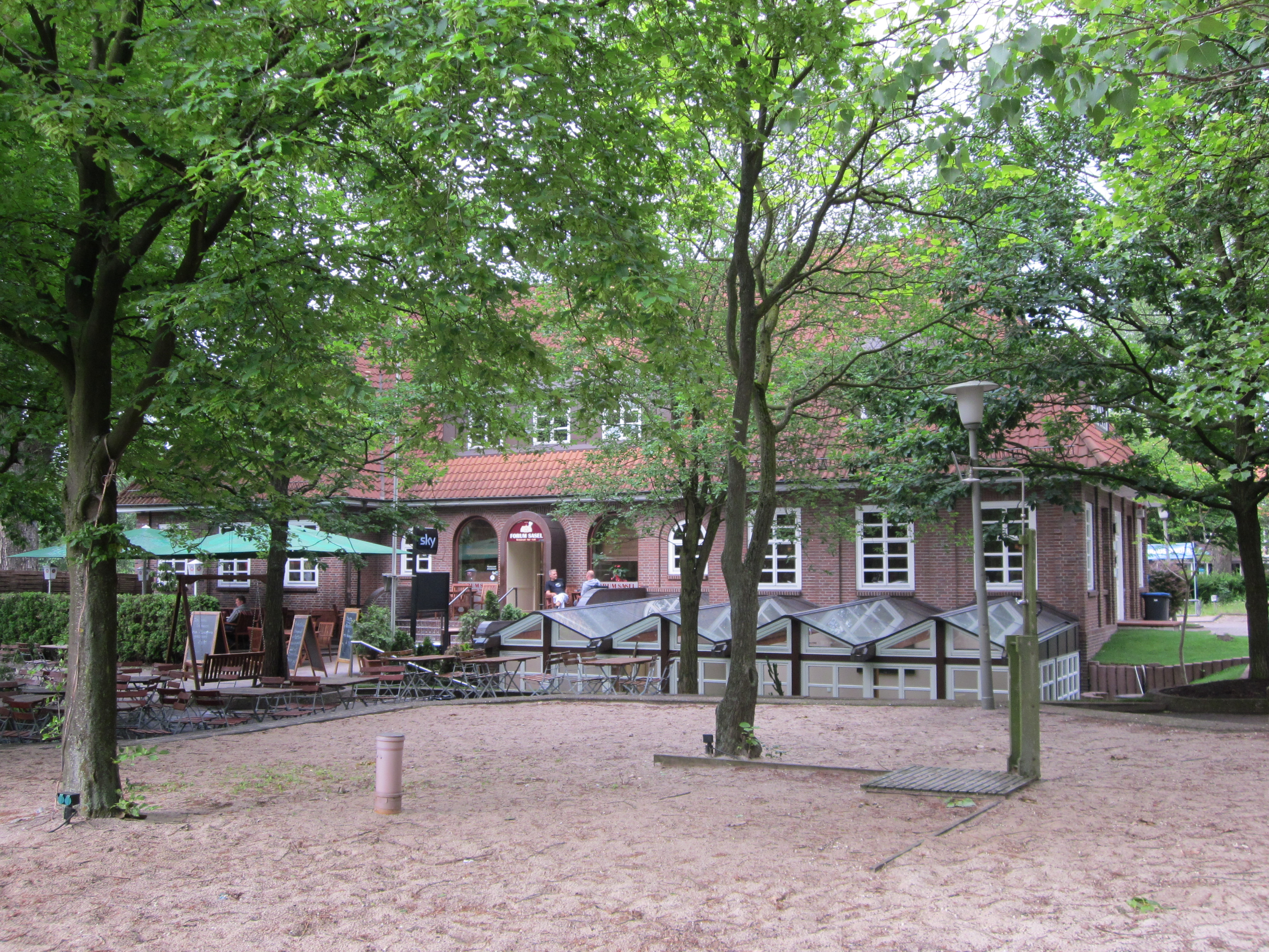 File Ehemaliges Saseler Rathaus Auf Dem Saseler Markt In