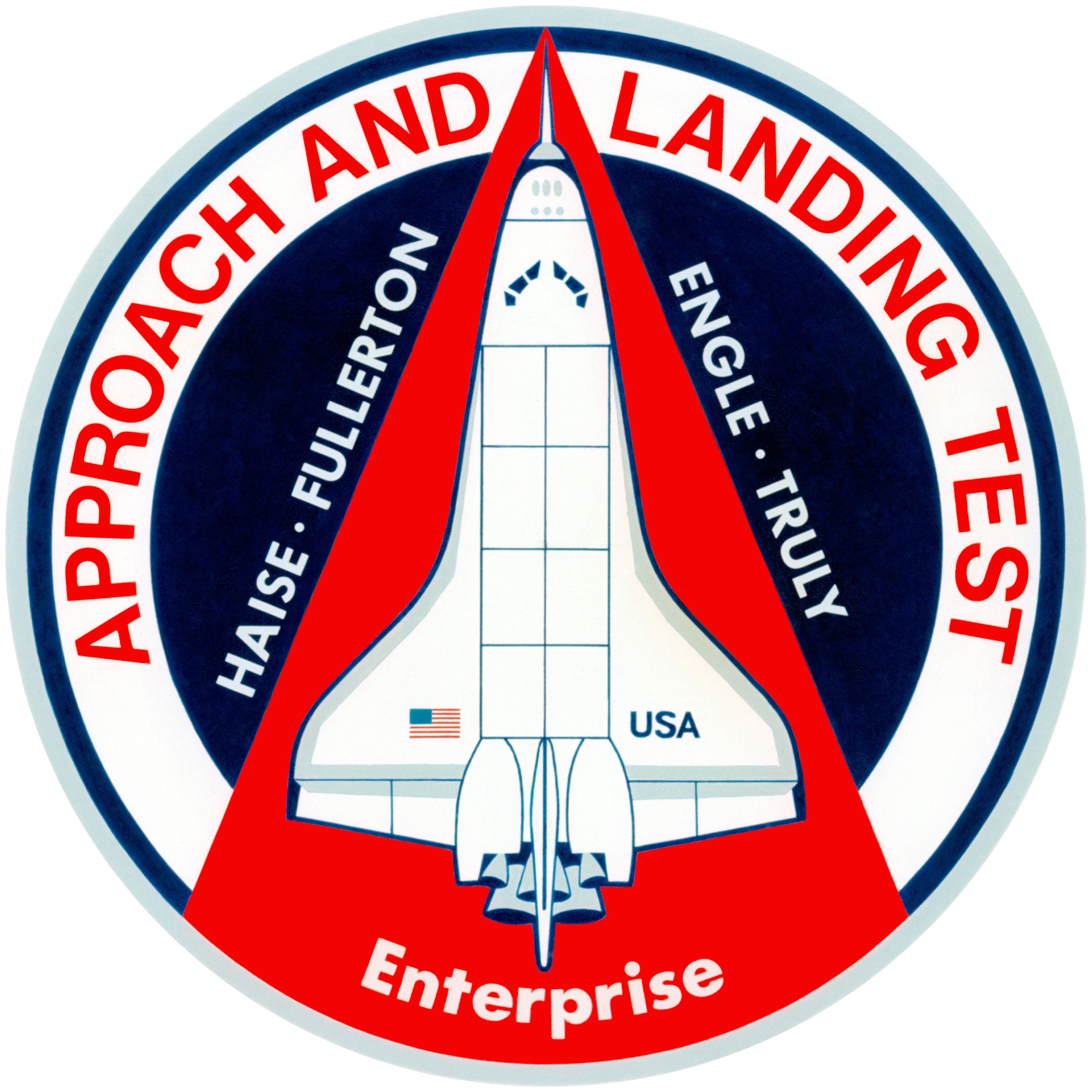 space shuttle enterprise patch - photo #1